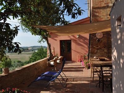 Photo for Tuscany close to Florence and Pisa vacational house in breathtaking view