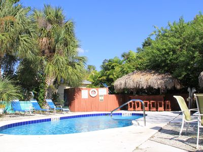 Photo for Tropical Garden Beach Cottages across from Siesta Key Beach
