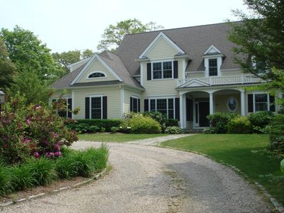 Photo for Falmouth Luxury Retreat -  Walk to Beaches -  Heated Pool - Near Wood's Hole