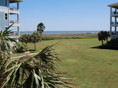 Photo for Beachfront and steps away from the Beach Club at Pointe West