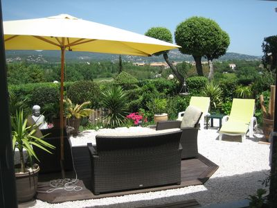 Photo for Mazet for 4 people in the Gulf St Tropez mountains and sea view