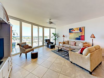 Photo for Water-View Caribe 3BR/3BA w/ En-Suite Baths – Resort Pool, Spa, Lazy River