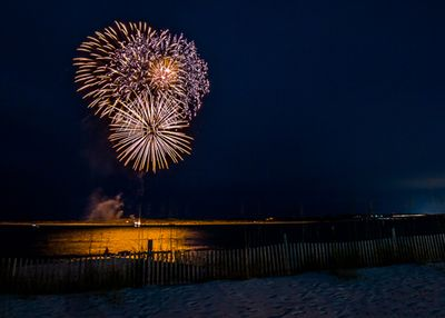 Watch the weekly fireworks from your balcony or on the beach!