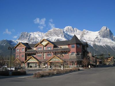 Photo for Affordable Mountain View Condo in the Heart of Canmore