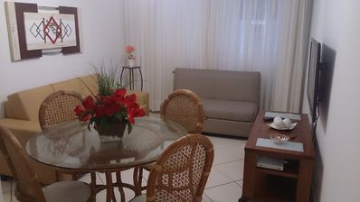 Photo for Great apartment less than 100 meters from Pitangueiras Beach