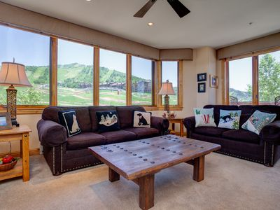 Photo for Best Views In Steamboat, Ski-In/Out Corner Home, Pool/HotTubs, Restaurants, etc.