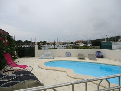 Photo for House with sea views, swimming pool, 7 people, tastefully decorated