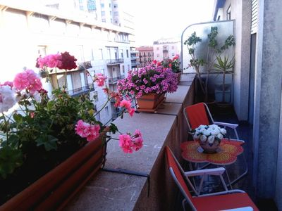 Photo for scirocco house apartment located in the heart of Palermo, accessible by car