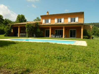 Photo for Superb comfortable villa with swimming pool in quiet Gulf St Tropez