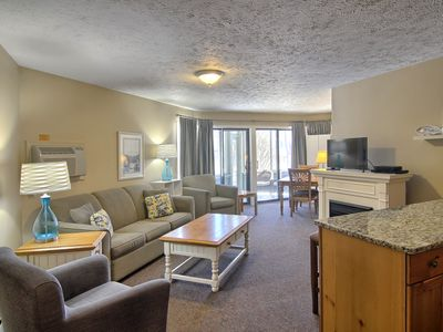 Photo for Luxury suite with a touch of home in downtown Charlevoix!