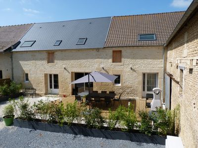 Photo for Gite 10 people, 4 ears, great comfort, ideally located.