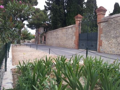 Photo for Century home, renovated, with swimming pool in a park of 1200 m2