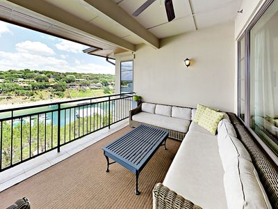Photo for Waterfront All-Suite 3BR w/ Private Balcony – On-Site Dining, Spa & Marina