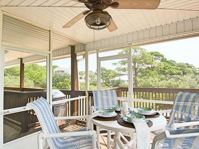 Photo for Cozy Pet-Friendly Beach Rental with Hot Tub and Screened-in Deck.