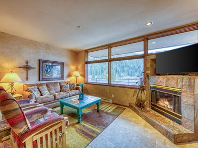 Photo for Updated condo with ski area views, great location near the gondola