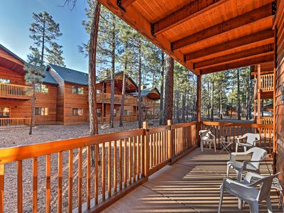 Photo for Pinetop Townhome w/Patio-29 Minutes to Sunrise MTN