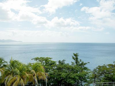 Photo for Super T3 entirely equipped, View over Caribbean Sea 5 km from fdef