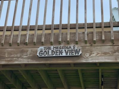 "Photo for 2nd Row/""Golden"" Ocean View/ Huge Deck; Quick & Easy Beach Access"