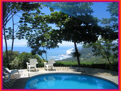 Photo for Pacific Edge Lodge - Dramatic Ocean View Cottages With Dense Primary Rainforest.