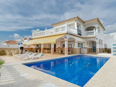 Photo for Luxurious Beach Villa, La Cala de Mijas V-5473