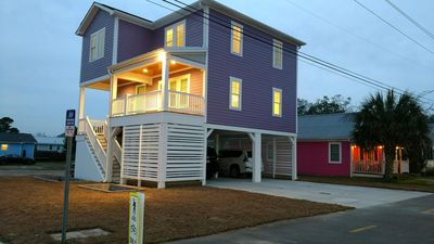 Photo for BRAND NEW:  Ocean and City Light View Home + Steps to Restaurants