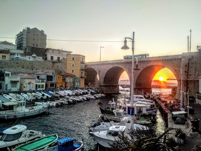 Photo for Close to the beaches, Unobstructed view of the small port of Vallon des Auffes