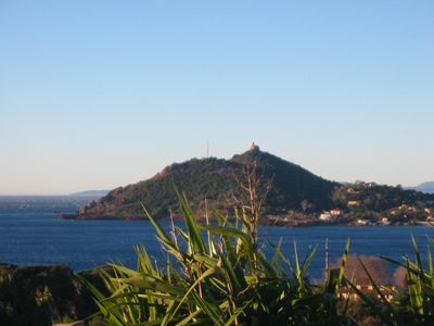 Photo for Panoramic ocean view at the foot of the Esterel Massif