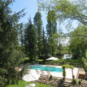 Photo for Secluded Hamlet In Burgundy With Covered Swimming Pool and hot tub