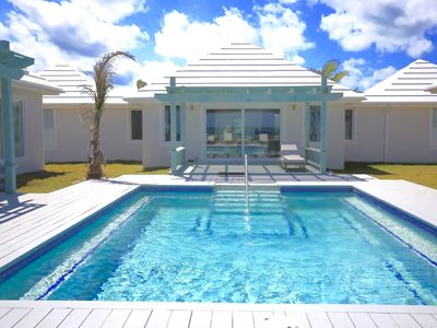 Photo for Brand New Luxury Beachfront Estate with Heated Pool on Banks Road