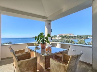 Photo for Beautiful property with private beach in Pula