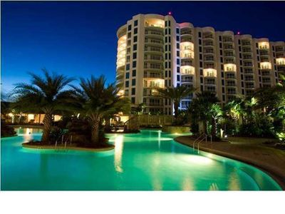 Photo for 3 Bedroom/2 Bath - Beautiful Ocean/Pool Views - large wrap balcony - Lagoon Pool