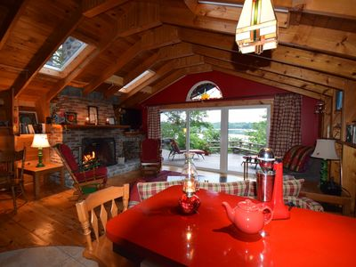 Photo for Beautiful 62 Acre Lakefront, Canoeing, Kayaking, Swimming, Fire Pit, Sauna, Shelburne, NS