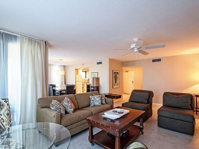 Photo for Updated 3BR Condo Across From Beach ~ Free WiFi & Cable TV!