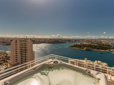 Photo for THE MOST INCREDIBLE VIEW IN MALTA, INC POOL