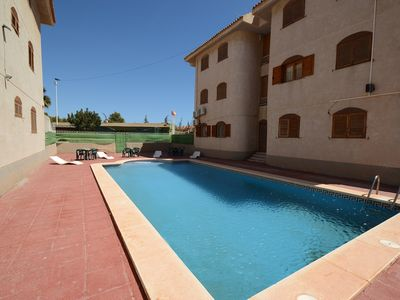 Photo for Apartment 5 pers 70m ² in residence with swimming pool, 5 mn beaches / animations