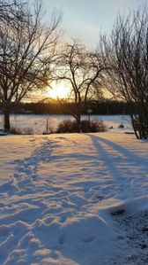 Photo for New Listing! - Waterfront Home with sunrises and an updated 2 bdrm home