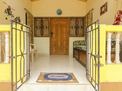 Photo for Private 5 BHK villa 7 minutes to Vagator beach.