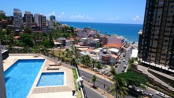 Apt 2 bedrooms, furnished, sea view - Carnival - Salvador - Sleeps 5 person