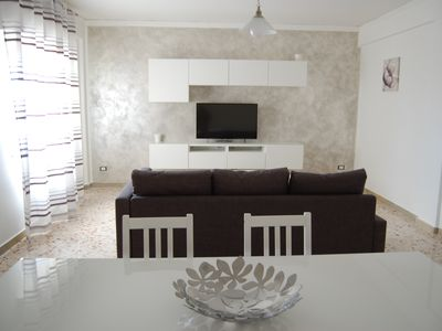 Photo for Brand new apartment just steps from the center of Terrasini