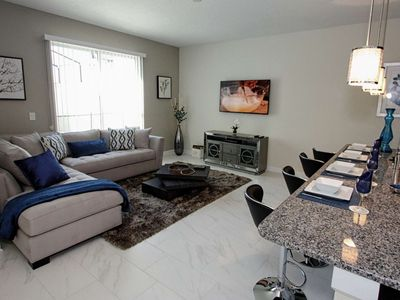 Photo for Star Wars Disney Opens August 29, Book Now!  Storey Lake Townhome with Private Pool, BBQ Available