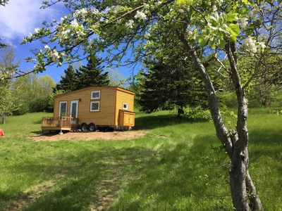 Photo for Tiny Nest (Tiny House) With Sandy Beach And Waterfall, only 7km To Inverness, Cape Breton