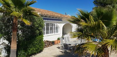Photo for Luxury holiday villa Denia Spain 2-6 people with private pool and unobstructed view