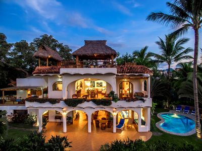 Photo for Oceanfront Paradise, Amazing Estate in Sayulita's Best Location