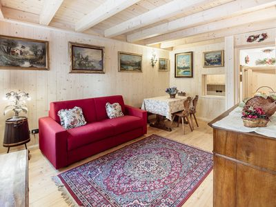 Photo for In the center of Cortina d'Ampezzo, recently renovated apartment
