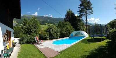 Photo for Ski and Summer holiday house for 8-10 persons with private summer swimming pool