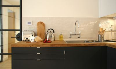 Beautiful fully equipped Kitchen (with a dishwasher)