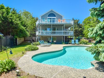 Photo for #908: Water Views from Multiple Decks, Private Pool, Access to Grand Cove!