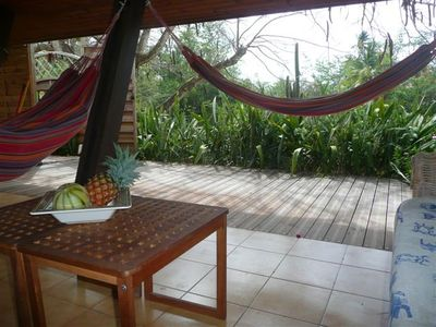 Photo for Charming and spacious house F3 with garden 100m from the diamond beach, WIFI