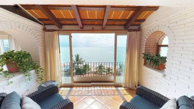 Photo for El Dorado Penthouse / Beach Front / 3 BR