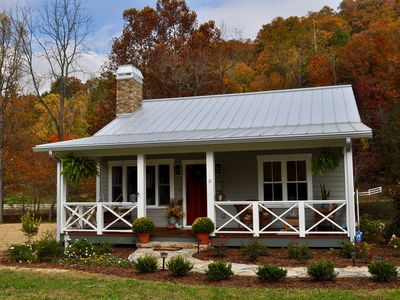 Photo for Luxury Bluebird Cottage at Living Waters